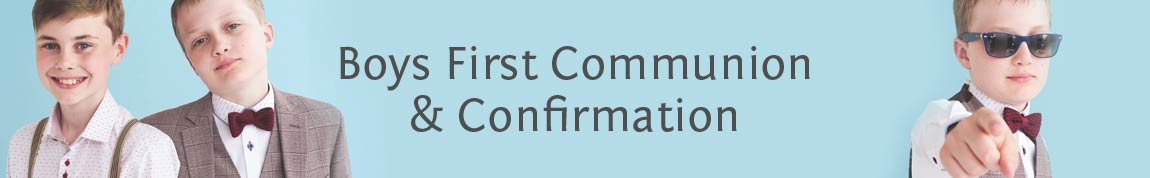 communion-confirmation outfits for Boys