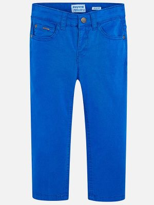 Mayoral Boys Slim Fit Trousers Pacific Blue 29-00509-088-800-2