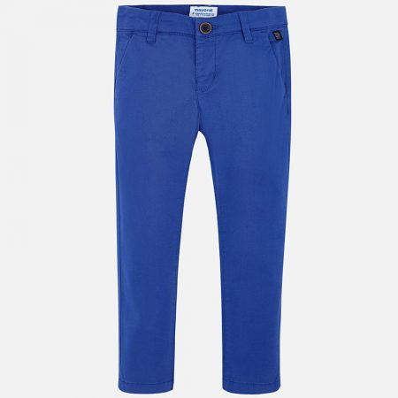 Mayoral Boys Slim Fit Trousers Sea Blue29-00512-041-800-2