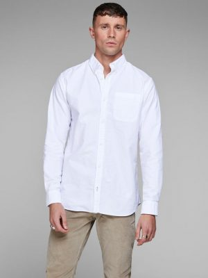 Jack and Jones Slim Fit White Shirt12138086_White_628492_003_ProductLarge