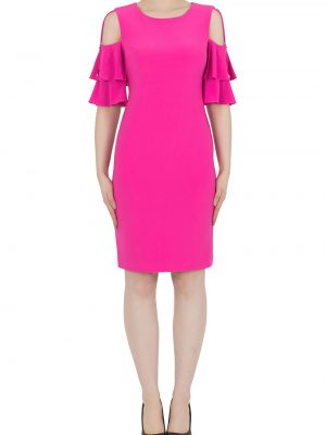 Neon Pink Dress Style 191042