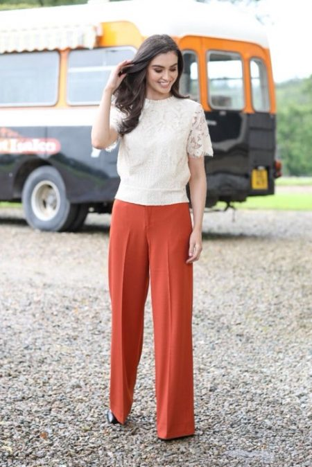 Rant & Rave Wide Leg Trousers