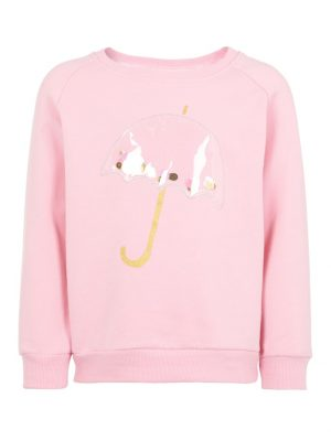 Name It Mini Umbrella Sweatshirt 13169296_PrismPink_001