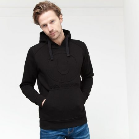 Duck and Cover Ashworth Hoody Black