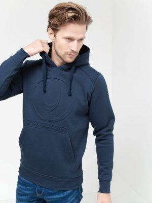 Duck and Cover Ashworth Hoody Blue
