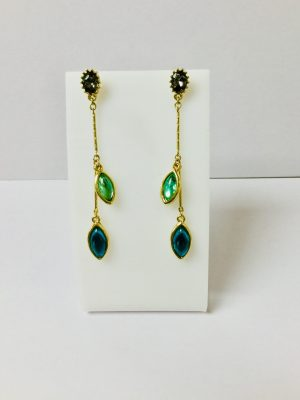 Betty & Biddy Persian Green Teardrop