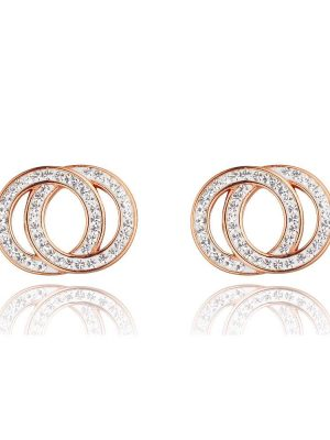 Elise Rose Gold Earrings