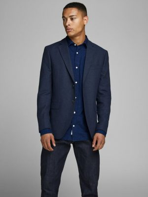 Jack & Jones Slim Fit Blazer Dark Navy