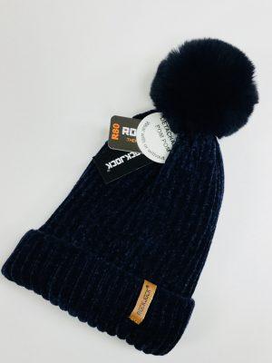 Ladies Thermal Bobble Hat (Navy)