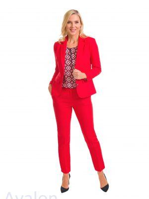Avalon Ladies Jacket A7102-08 Colour Red