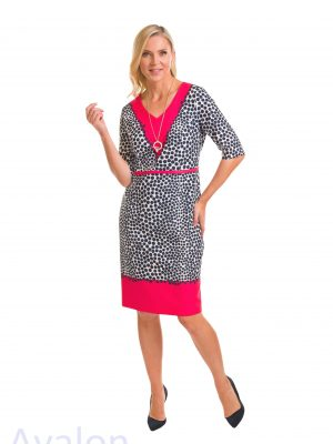 Avalon Ladies Dotty Dress A7120