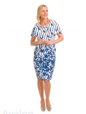 Avalon Ladies Precilla Geo Dress A7126