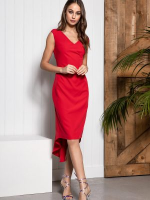 Sisters By Caroline Kilkenny Sally Dress Red occasion wedding