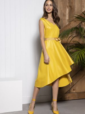 Sisters By Caroline Kilkenny Cali Dress Mustard