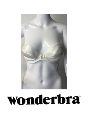 Wonderbra Push Up Multiway Clear Straps White